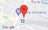 Plan Google Stage recuperation de points Amiens 80000, 29-33 Rue Paul Tellier