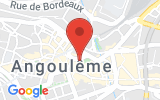 Plan Google Stage recuperation de points Angoulême 16000, 1 Place des Halles Centrales