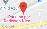 Plan Google Stage recuperation de points Nice 06200, 24 Rue Costes et Bellonte
