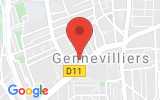 Plan Google Stage recuperation de points Gennevilliers 92230, 32 Rue Louis Calmel