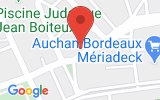 Plan Google Stage recuperation de points Bordeaux 33000, 153 Rue Georges Bonnac