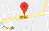 Plan Google Stage recuperation de points Carpentras 84200, 233 Avenue du Mont Ventoux