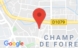 Plan Google Stage recuperation de points Bourg-en-Bresse 01000, 12 Rue du Pavé d'Amour