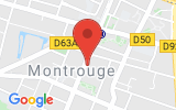 Plan Google Stage recuperation de points Montrouge 92120, 63 Avenue de la République