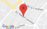 Plan Google Stage recuperation de points Saint-Dizier 52100, Avenue Raoul Laurent