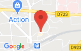 Plan Google Stage recuperation de points Ancenis 44150, Boulevard du Docteur Moutel