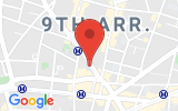 Plan Google Stage recuperation de points Paris 75009, 11 Rue Notre Dame de Lorette