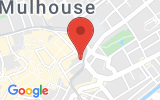 Plan Google Stage recuperation de points Mulhouse 68100, 29 Passage Central