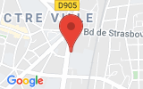 Plan Google Stage recuperation de points Dijon 21000, 9 bis, boulevard Voltaire