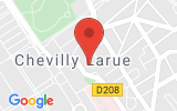 Plan Google Stage recuperation de points Rungis 94150, 11 Place d'Aquitaine