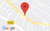 Plan Google Stage recuperation de points Aubagne 13400, 11 Avenue de Verdun