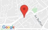 Plan Google Stage recuperation de points Saint-Quentin 02100, 50 Avenue Robert Schumann