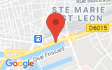 Plan Google Stage recuperation de points Le Havre 76600, Quai Colbert
