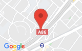 Plan Google Stage recuperation de points Nanterre 92000, 02 Avenue Benoit Frachon