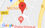 Plan Google Stage recuperation de points Saint-Jean-de-Luz 64500, 04 Avenue de Layats