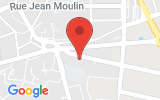 Plan Google Stage recuperation de points Melun 77000, 16 Route de Montereau