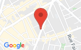 Plan Google Stage recuperation de points Paris 75011, 127 Avenue Ledru Rollin