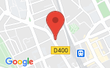 Plan Google Stage recuperation de points Nancy 54000, 14 Rue de l'Armée Patton
