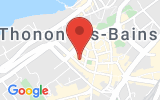 Plan Google Stage recuperation de points Thonon-les-Bains 74200, 15 bis Rue Vallon