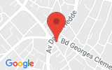 Plan Google Stage recuperation de points Royan 17200, 13-19 Avenue Charles Regazzoni