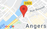 Plan Google Stage recuperation de points Angers 49100, Rue de la Poissonnerie