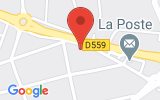 Plan Google Stage recuperation de points La Ciotat 13600, 566 Avenue Théodore Aubanel