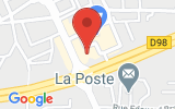 Plan Google Stage recuperation de points Hyères 83400, 19 Avenue Ambroise Thomas