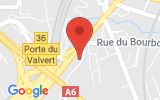 Plan Google Stage recuperation de points Tassin-la-Demi-Lune 69160, 11 Avenue Victor Hugo