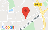 Plan Google Stage recuperation de points Issoudun 36100, Chemin du Postillon