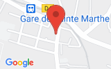 Plan Google Stage recuperation de points Marseille 13014, 21 Rue Berthelot