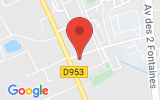 Plan Google Stage recuperation de points Metz 57050, 3 Rue Pierre Boileau